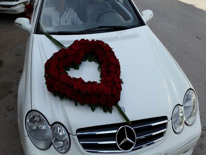car flowers Lebanon