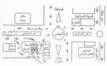 sawaya flowers map