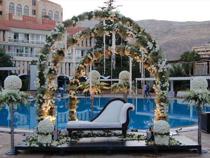 Weddings flowers Lebanon